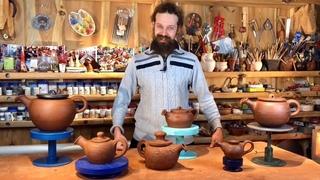 🍯 Научиться лепить из Глины: Гончарный ИНТЕНСИВ в Мастерской Волшебство керамики