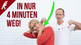 Nackenverspannungen lösen in nur 4 Minuten! ✅