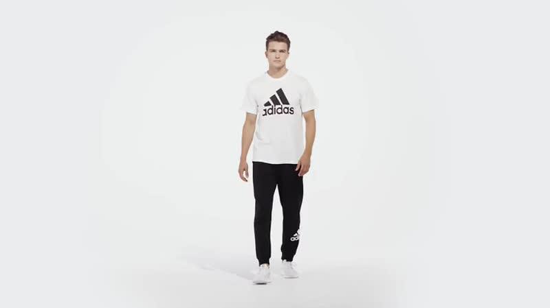 Распродажа! Футболки Adidas Must Haves Badge of Sport. Цена 1200р., раз. 48-50