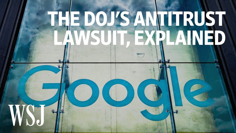 Why Google Is Being Sued by the Justice Department WSJ