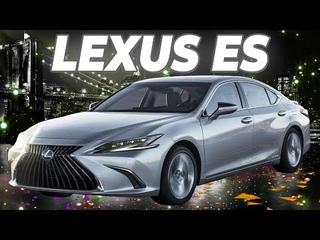 Lexus ES 2021: развёрнутый сенсорный экран и улучшенная подвеска