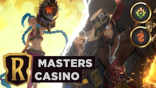 TWISTED FATE & JINX Masters Casino | Legends of Runeterra Deck