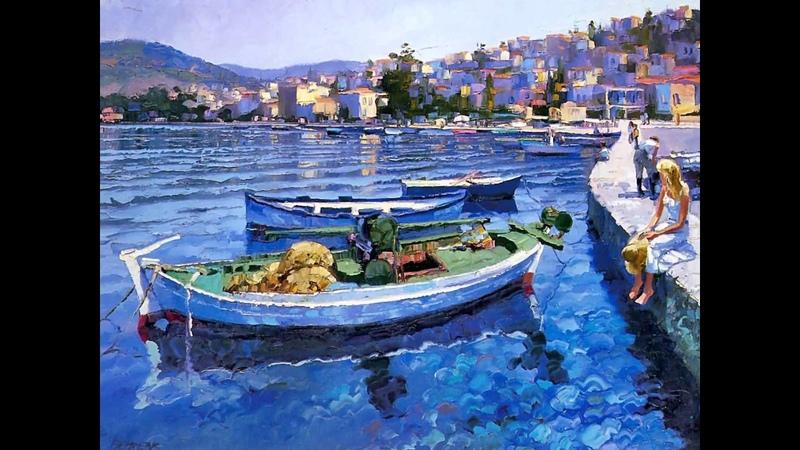 Яркий мир художника Говарда Беренса
