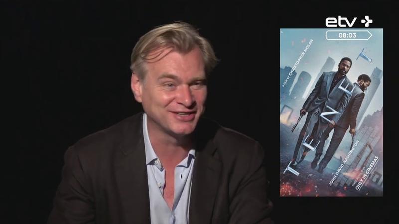 Кристофер Нолан и актеры «Довода» дали интервью эстонским журналистам