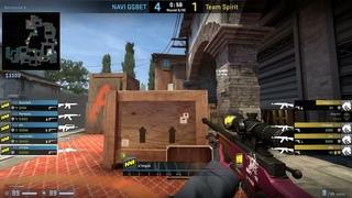 CS:GO POV Demo Na'Vi S1mple (42/14) vs Spirit (de_inferno)