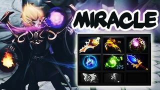 Miracle- Invoker God - Is he still human? Crazy Gameplay vs TOP 1 MMR - Dota 2 EPIC Match