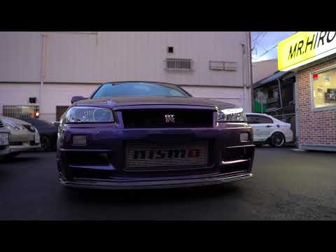 SKYLINE GT R Vspec BNR34 限定車!ミッドナイトパープルlll