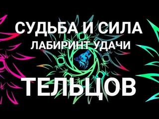 🔴🗽Судьба и сила Тельцов! Таро-Предсказание судьбы. Лабиринт УДАЧИ! Labyrinth of GOOD LUCK Taurus