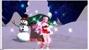 /Happy New Year!/ Megurine Luka VOCALOID/Мегурине Лука Вокалоид - MMD Last Christmas