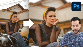 Automatically Blur Backgrounds in Photoshop! | Depth Blur Neural Filter