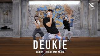 DEUKIE X Y CLASS CHOREOGRAPHY VIDEO / WOODZ - Touché Feat. MOON