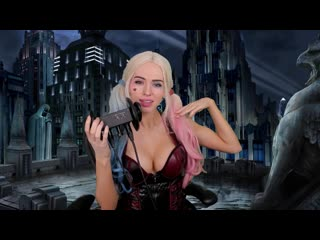 ASMR Ear Licking ♥ Harley Quinn ROLEPLAY