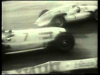 F1 Donington Park 1993 - Murray Walker and Bob Wilson. Silver Arrows.