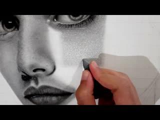 Как нарисовать РЕАЛИСТИЧНУЮ ТЕКСТУРУ КОЖИ с помощью очень простых материалов