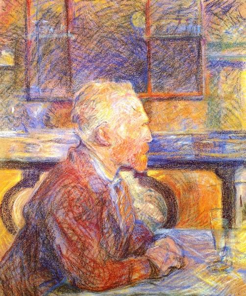 «Портрет Винсента Ван Гога », Анри де Тулуз-Лотрек