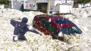 Мексику Засыпало ЛЬДОМ! Сильный град в Кананеа, Мексика_Mexico was ATTACKED by ICE! Severe Hail Storm in Cananea, Mexico