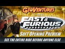 Fast Furious SuperCharged at Universal Studios, Orlando - Soft Opening Weekend - The Entire Ride!