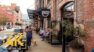 4K Virtual Walking Tour through Portland Downtown, Oregon State - City Walks