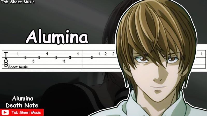 Death Note ED 1 Alumina Guitar Tutorial