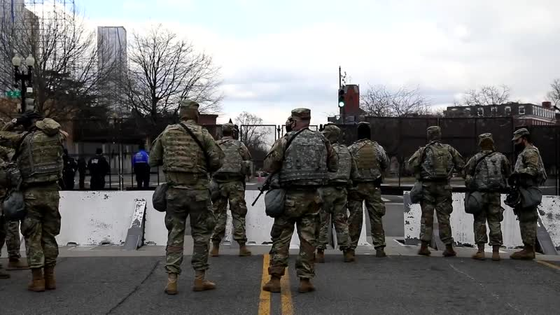 U S Military supports 59th Presidential Inauguration in Washington D C Jan 20 2021