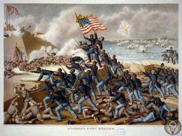 Черные в гражданской войне  на Севере и на Юге