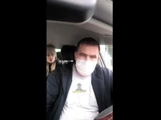 Таксист получил по лицу от пассажира без маски (Инцидент Барнаул)