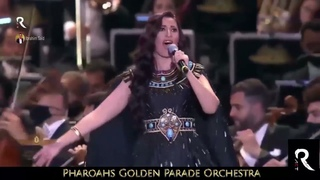 Song of Isis ancient Egyptian language performance  from The  Pharaoh's Golden Parade Orchestra