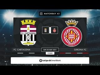 FC Cartagena - Girona FC MD42 D2100