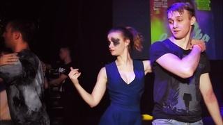 Brazuka 2018. Mikhail Kruzhalov and Valery Ponkina. Zouk improvisation.