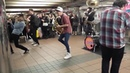 The coolest saxophone subway band ever