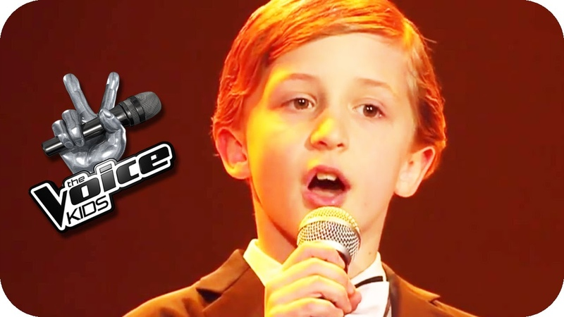Max Raabe Küssen kann man nicht alleine Nestor The Voice Kids 2015 Blind Auditions SAT 1