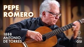 "Francisco Tárrega's ""Lágrima"" performed by Pepe Romero on an 1888 Antonio de Torres (ex F. Tárrega 2021)"