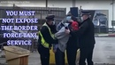 British Youtuber Active Patriot Unlawfully Arrested By Dover Ports Plastic Coppers
