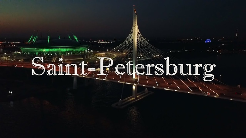 Аэросъёмка Санкт Петербург №2 Aerial Footage Saint Petersburg №2