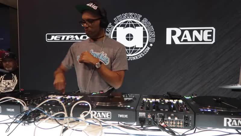 J Rocc LIVE DJ Set for the JetPack Beat Junkies Rane booth at the NAMM Show 2019