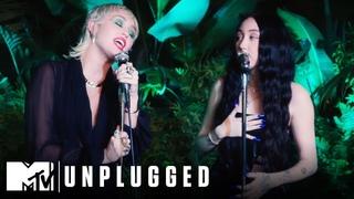 "Miley Cyrus ft. Noah Cyrus Perform ""I Got So High That I Saw Jesus"" | Miley Cyrus Backyard Sessions"