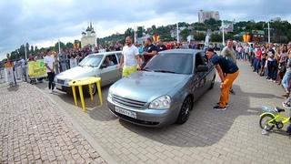 ГРОМКИЙ Ваз 2109 vs. Лада Приора | LFest соревнования по АВТОЗВУКУ