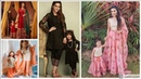 Gorgeous And Fabulous New Mother And Daughter Dresses Designs || Fashion dolly