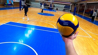 Volleyball First Person | Wing Spiker - Highlights | VC University (POV)