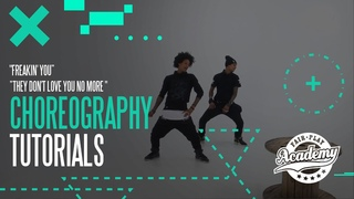 """★ Les Twins ★ TUTORIALS for """"Freakin' You"""" & """"They Don't Love You No More"""" ★ Fair Play Academy"""