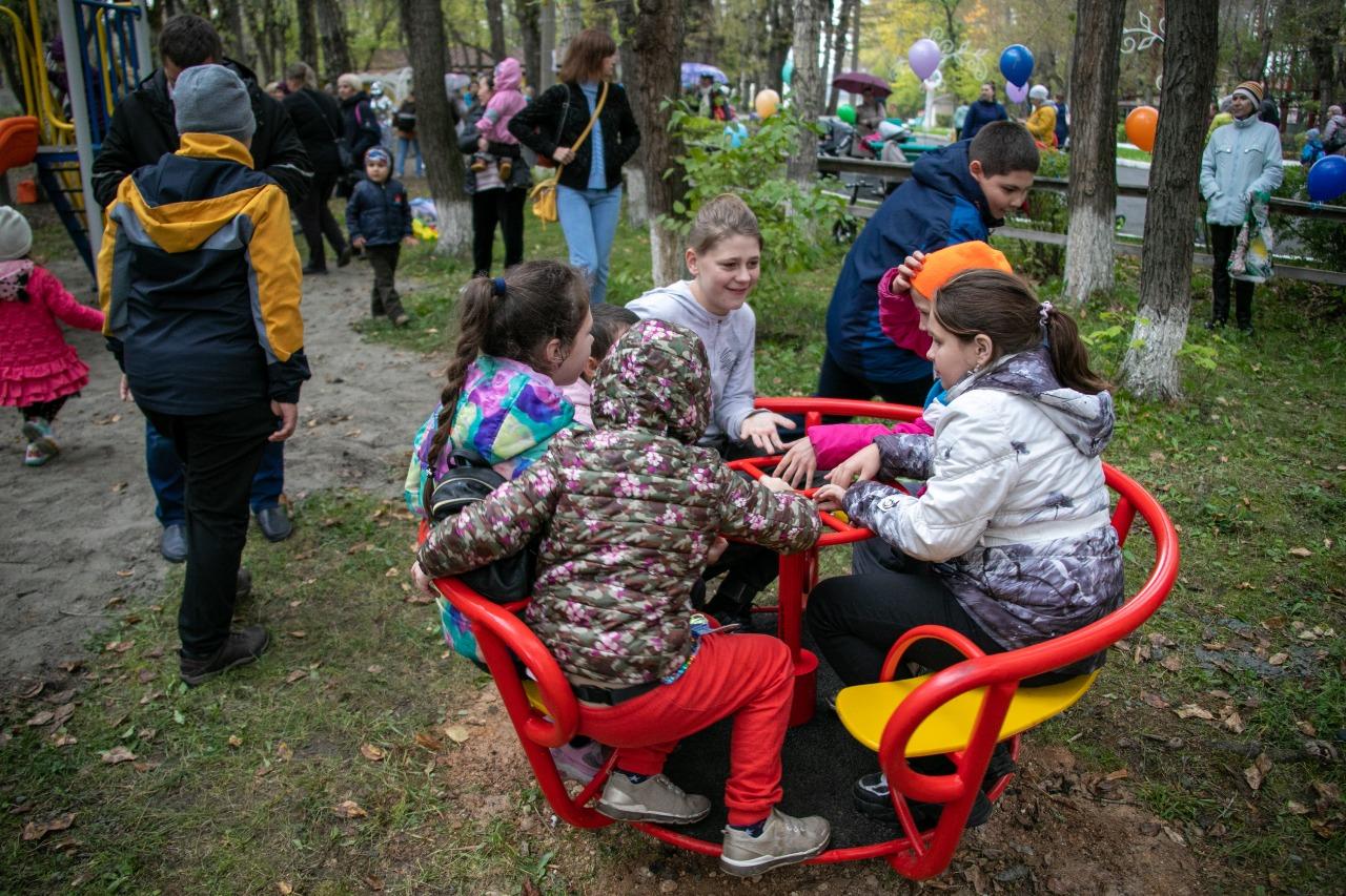 Вчера в парке семейного отдыха «Эльмашевский» было
