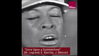 """""""Once upon a summertime"""", Betty Carter à Cannes en 1968"""