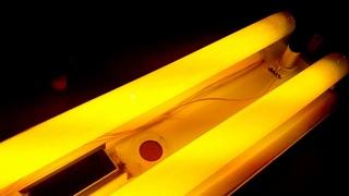 Светильник POLAMP ОКПВм-240+ цветные люминесцентные лампы СССР