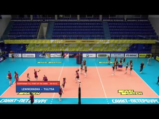 Волейбол ЧР женщины сезон 2020/2021 19-й тур Ленинградка vs Тулица