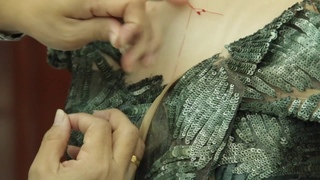 The making of Rami Al Ali's A W14 couture collection