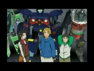 Transformers Galaxy Force Episode 17