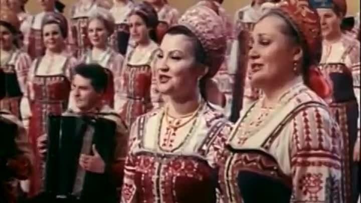 Фильм концерт Зелёными просторами Песни композитора Владимира Захарова 1977