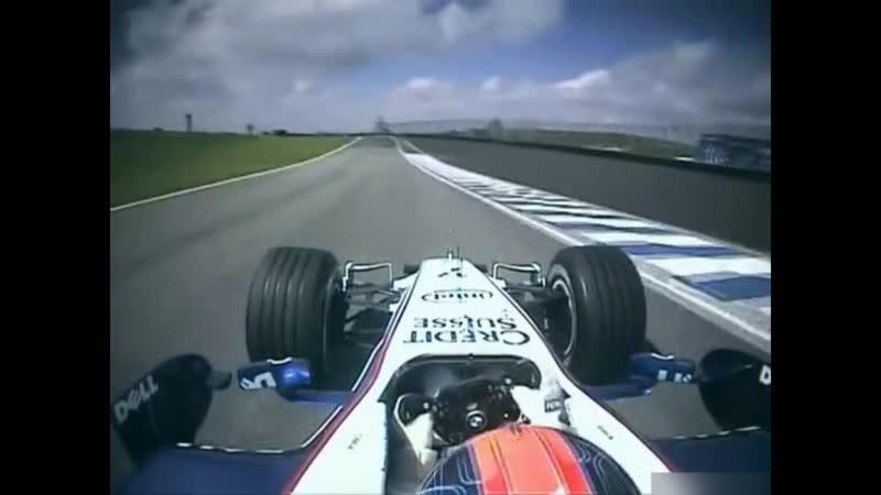 F1 2006 BMW Sauber F1 06 Onboard Engine Sounds