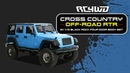 RC4WD Cross Country Off-Road RTR w/ 1/10 Black Rock Four Door Body PRE-ORDER NOW!