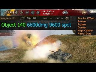 Object 140 6600dmg 9600 spot